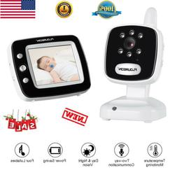 "1080P Baby Monitor Security IP Camera Video 3.5"" LCD Display"