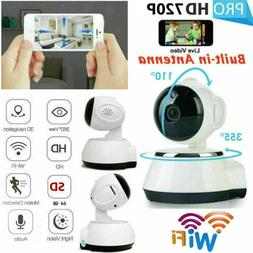 720P HD Wireless IP Security Camera Indoor CCTV Home Smart W