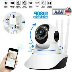 1080P WiFi IP Camera Home Security Baby Monitor Clever Dog C