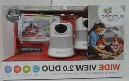 "Summer Infant 2.0 Duo Baby Video Monitor with 5"" Screen and"