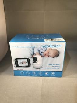 HelloBaby 2.4 GHz Digital Wireless Video Baby Monitor Remote