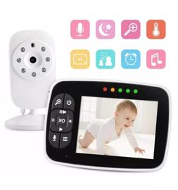 "3.5"" Baby Monitor Wireless Home Security Nanny Camera 2-Wa"