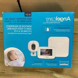 Angelcare 3-in-1 AC327 Baby Monitor, with Breathing Movement