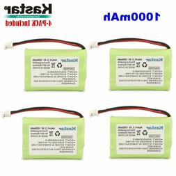 4 X Baby Monitor Battery For Motorola MBP33 36 and Graco iMo