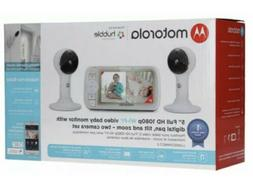 "MOTOROLA 5"" Full HD 1080p WIFI VIDEO BABY MONITOR LUX65CONNE"
