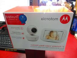5 portable video baby monitor mbp36xl new