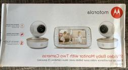 "Motorola 5"" Video Baby Monitor with Two Cameras - MBP50-G2 -"