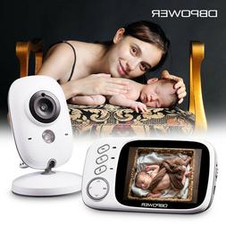 DBPOWER VB603 Video Baby Monitor 2.4G Wireless with 3.2 Inch