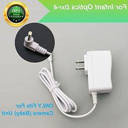 For Infant Optics DXR-8 Baby Monitor Charger Power Cord Repl