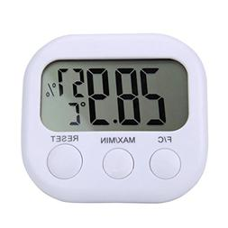 LCD Thermometer, Iuhan Digital LCD Indoor Thermometer Hygrom