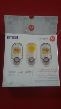 Motorola Digital Audio Baby Monitor with Two Parent Units wi