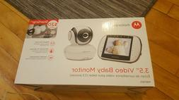 "Motorola MBP36S Remote Wireless Video Baby Monitor 3.5"" Full"