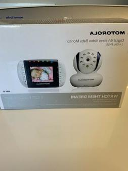 Motorola Wireless Video Baby Monitor with Infrared Night Vis