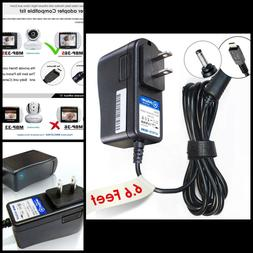 Ac Dc Adapter Charger 6.6' For Motorola Wireless Video Baby