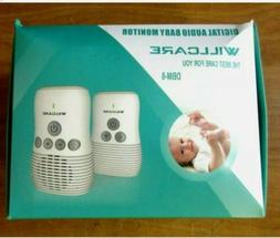 Willcare Baby Monitor DBM-8 Two-Way Audio Smooth Night Light