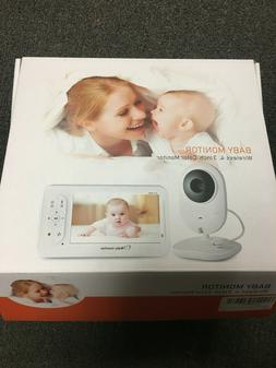 Baby Monitor Digital Sound Activated Video Record Baby 4.3-I