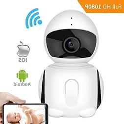 WiFI Security Camera, IKARE 1080P Indoor Security Camera for