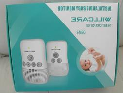 BABY MONITOR, PORTABLE DIGITAL AUDIO, WILLCARE DBM-8, NEW, 2
