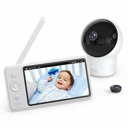 "Eufy Baby Monitor Security SpaceView Video 5"" LCD Display,"