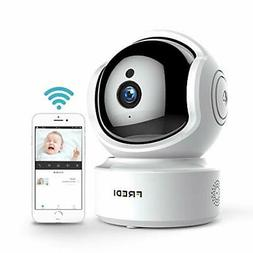 FREDI Baby Monitor Wireless 1080P Security Camera, WiFi Home