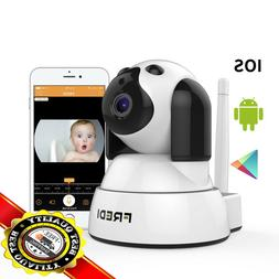FREDI Baby Monitor Wireless WIFI IP Surveillance Camera 720P