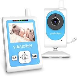 HelloBaby - Baby Monitor with Video Recording Camera, Motion