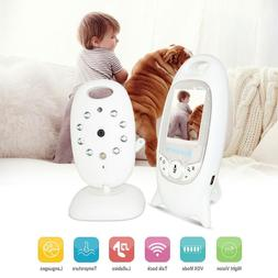 Baby Security Camera Infants Led Night Vision Wireless Video