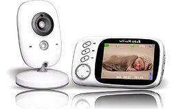 Huan Monitor 3.2 Inch LCD Video Baby Monitor,Wireless Secu