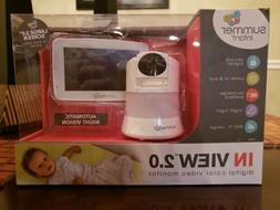 Brand New in Box Summer Infant In View 2.0 Color Video Baby