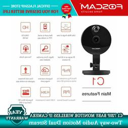 Foscam C1 Wireless IP Camera Baby Monitor Video Cam Two-Way