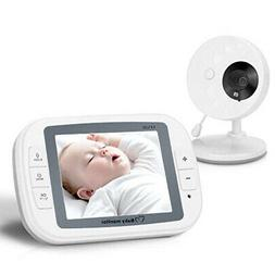 Camera Sleep Monitor 2.4 GHz 3.5in Display Baby Wireless Sur