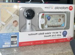 """Motorola CONNECTVIEW 65 PLUS 5"""" Video Baby Monitor With Crib"""