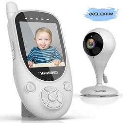 Baby Monitor Campark 2.4GHz Wireless Video Digital Night Vis