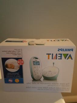 Philips Avent DECT Baby Monitor with Temperature Sensor and