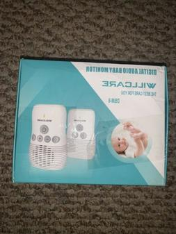 Willcare Digital Audio Baby Monitor.PLUG IT IN AND ITS READY