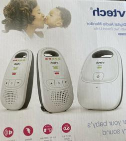 VTech DM223-2 Audio Baby Monitor with Two Parent Units, Up t