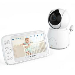 "DT50 5"" Wireless Security Camera Indoor Home Smart Baby Moni"