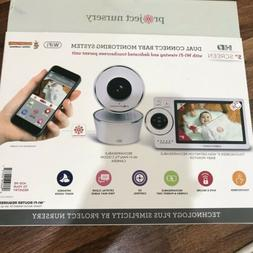 Project Nursery High-Definition Dual Connect Baby Monitor Sy