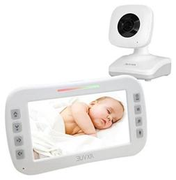 "AXVUE E610 Video Baby Monitor with 4.3"" LCD Screen and Night"