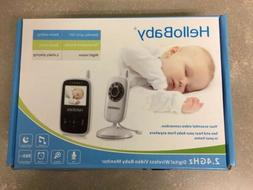 HelloBaby HB24 2.4GHz Digital Wireless Baby Monitor Night Vi