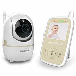 HelloBaby HB248 Wireless Video Baby Monitor Remote Pan-tilt