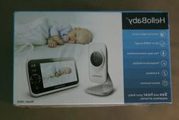 "HelloBaby HB50 Video Baby Monitor with Camera and Audio 5"" C"