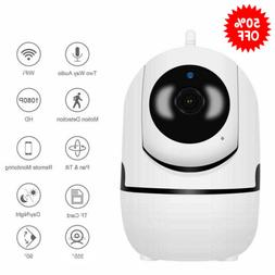 HD 1080P WIFI Wireless Camera Home IP Camera 2 Way Audio Sma