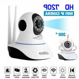 HD 720P Wireless WiFi Smart Baby Dog Pet Monitor Home Securi