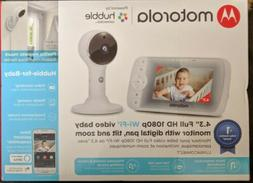 Motorola Hubble 4.3-Inch Color Screen Video Baby Monitor LUX