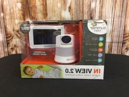 Summer Infant in view 2.0 digital color video monitor new op