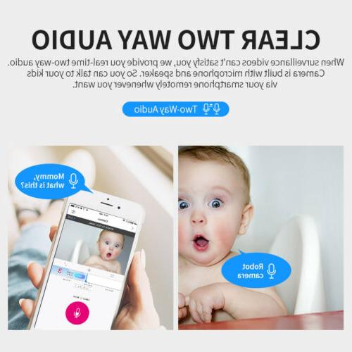 WiFi Camera CCTV Baby Holiday Gift