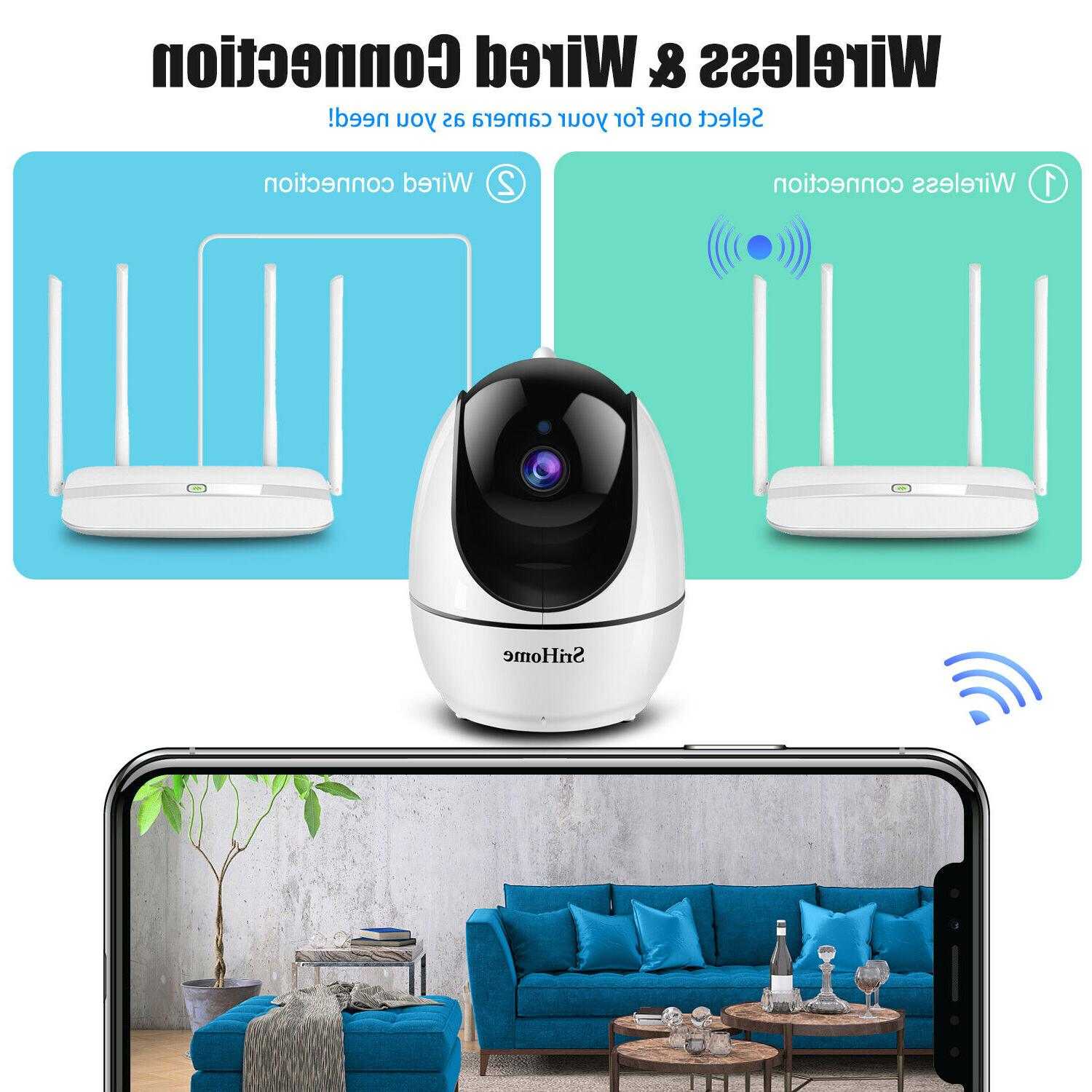 1080P Security Home Wireless Night Vision