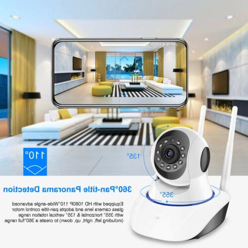 HD 1080P Wireless Security Camera Home Monitor US