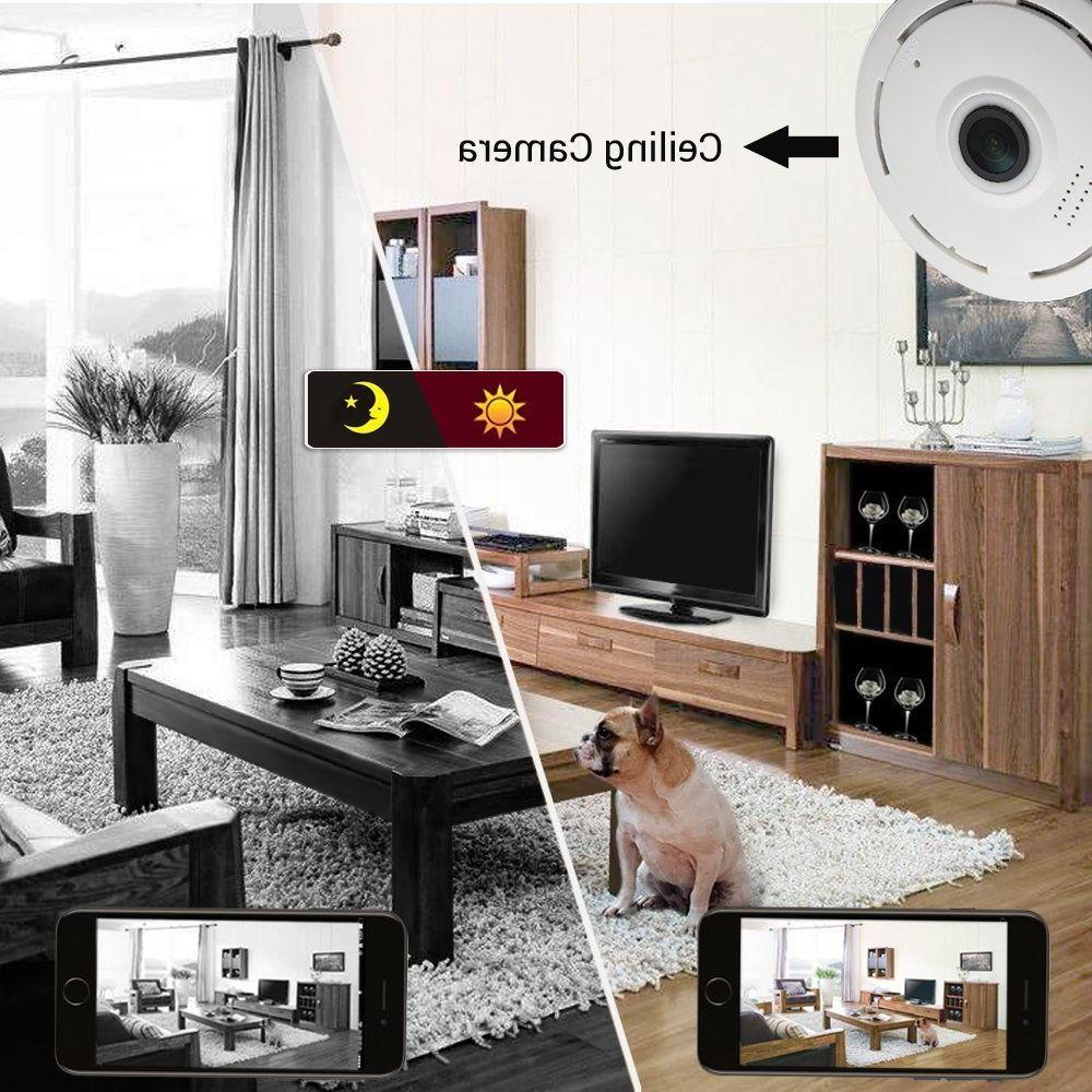 1080P V380 360 degree Panoramic Wifi Security Monitor Camera